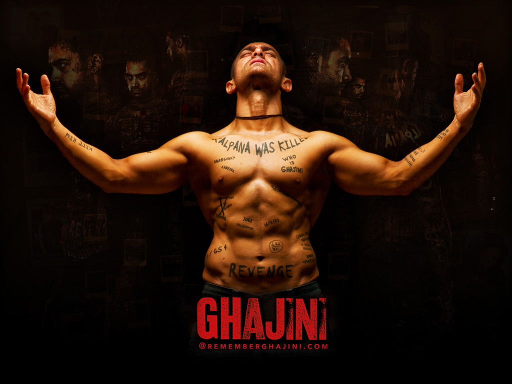 Ghajini indian Movie Screenshot